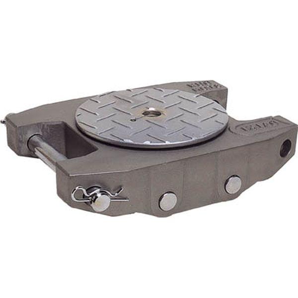 【メーカー在庫あり】 (株)ダイキ ダイキ スピードローラーアルミダブル型ウレタン車輪3t AL-DUW-3 JP