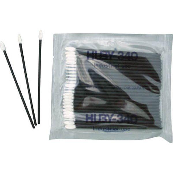(有)クリーンクロス HUBY フラットスワイプ(導電プラ軸使用) 5000本入 FS-010MB JP