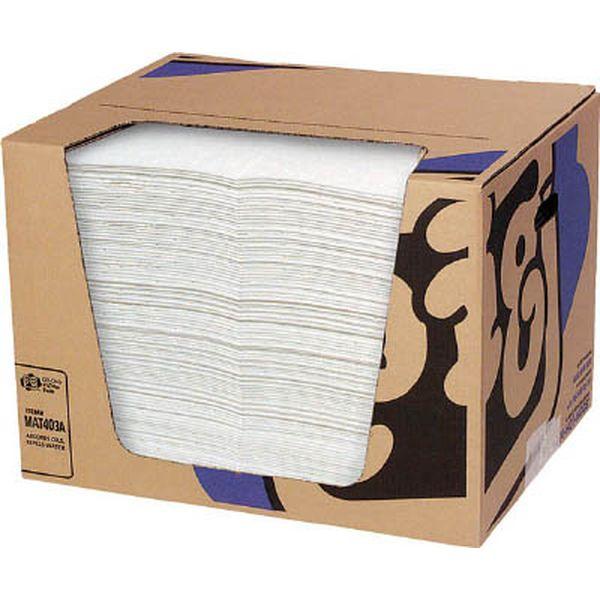 【メーカー在庫あり】 エー・エム・プロダクツ(株) pig ピグ油専用エコノミーマット ミシン目入り (100枚/箱) MAT403A JP