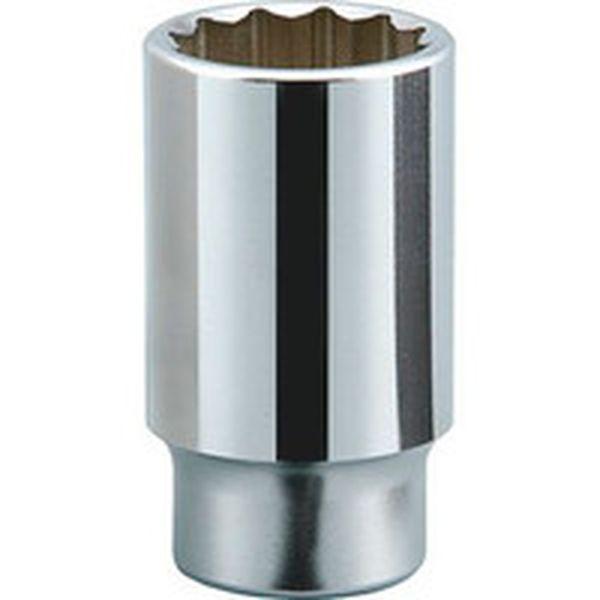 【メーカー在庫あり】 京都機械工具(株) KTC 19.0sq.ディープソケット(十二角) 55mm B45-55 JP