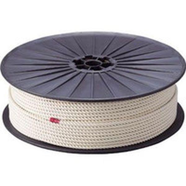 【メーカー在庫あり】 トラスコ中山(株) TRUSCO 綿ロープ 3つ打 線径6mmX長さ200m R-6200M JP