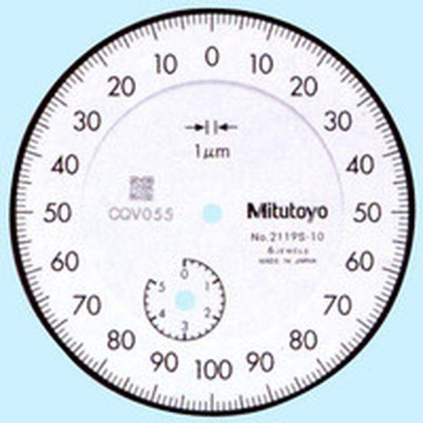 【メーカー在庫あり】 (株)ミツトヨ ミツトヨ 標準ダイヤルゲージ 2119S-10 JP