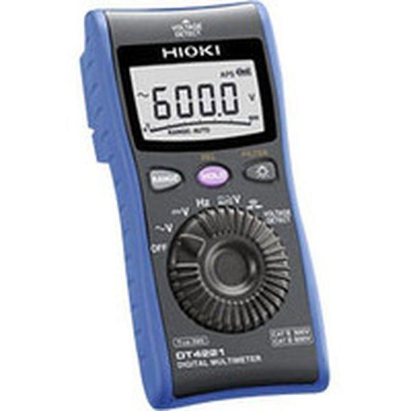 【メーカー在庫あり】 日置電機(株) HIOKI デジタルマルチメータ DT4221 DT4221 JP