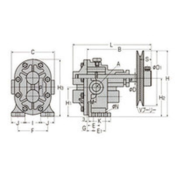【メーカー在庫あり】 (株)工進 工進 ギヤーポンプ GC-25 JP