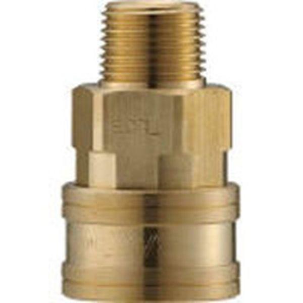 【メーカー在庫あり】 長堀工業(株) ナック クイックカップリング TL型 真鍮製 メネジ取付用 CTL16SM2 JP