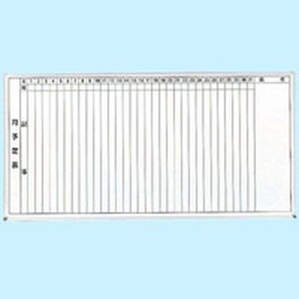 【メーカー在庫あり】 トラスコ中山(株) TRUSCO スチール製ホワイトボード 月予定表・縦 900X1800 GL-202 JP