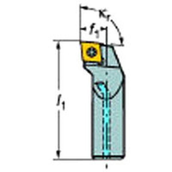 【メーカー在庫あり】 サンドビック(株) サンドビック コロターン107 ポジチップ用超硬ボーリングバイト E12Q-SCLCR 06-R JP