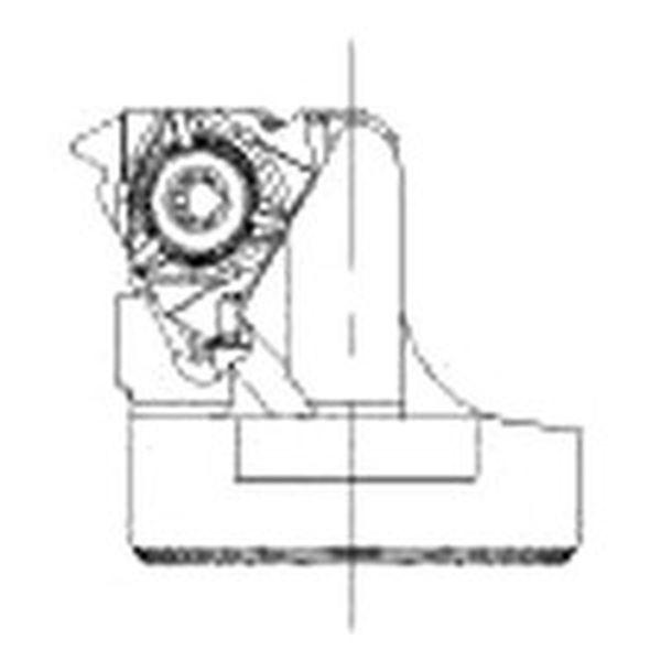 【メーカー在庫あり】 サンドビック(株) サンドビック コロターンSL コロスレッド266用カッティングヘッド SL-266LKF-403227-22 JP