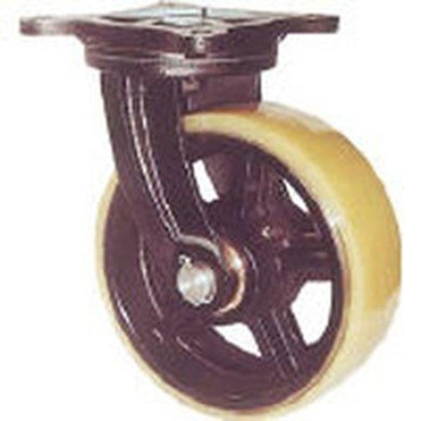 【メーカー在庫あり】 (株)ヨドノ ヨドノ 鋳物重量用キャスター MUHA-MG300X75 JP