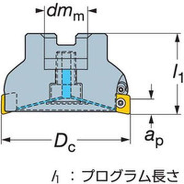 【メーカー在庫あり】 サンドビック(株) サンドビック コロミル590カッター RA590-160J38A-11M JP