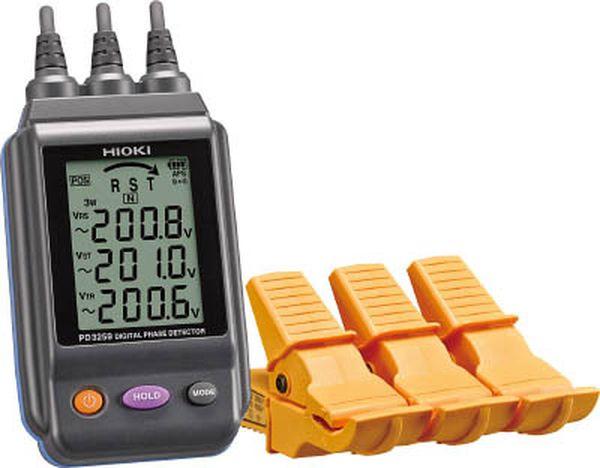 【メーカー在庫あり】 日置電機(株) HIOKI 電圧計付検相器 PD3259 JP