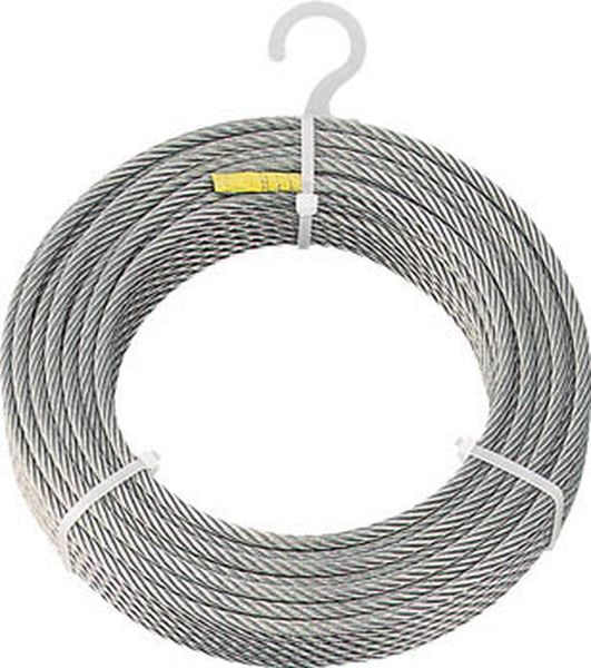 【メーカー在庫あり】 トラスコ中山(株) TRUSCO ステンレスワイヤロープ Φ8.0mmX30m CWS-8S30 JP