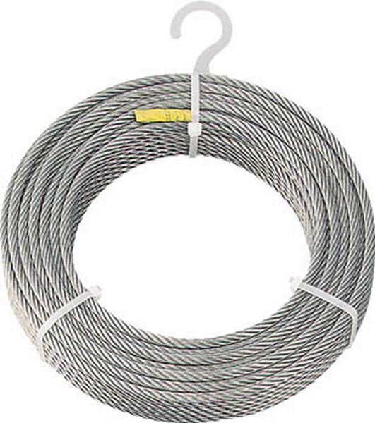 【メーカー在庫あり】 トラスコ中山(株) TRUSCO ステンレスワイヤロープ Φ8.0mmX50m CWS-8S50 JP