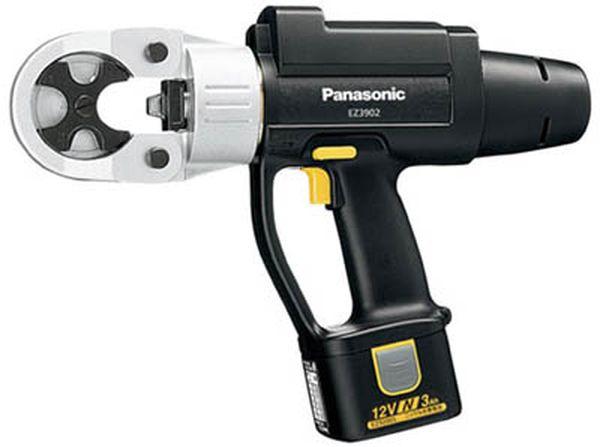 【メーカー在庫あり】 パナソニック(株)エコソリューショ Panasonic 充電圧着器 (12V) EZ3902N22K JP
