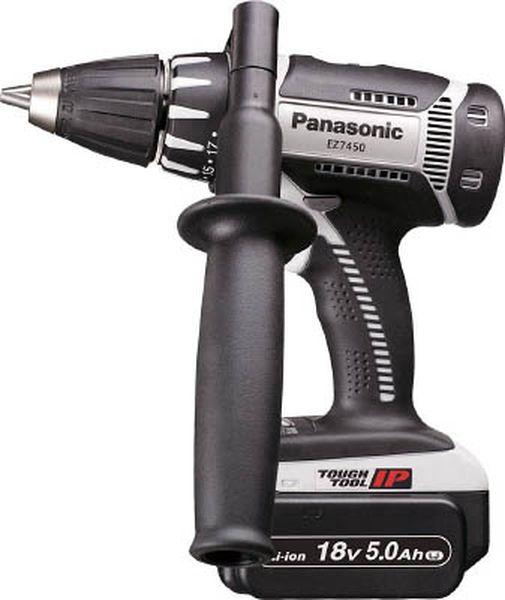【メーカー在庫あり】 パナソニック(株)エコソリューショ Panasonic 充電ドリルドライバー 18V 5.0Ah EZ7450LJ2S-H JP
