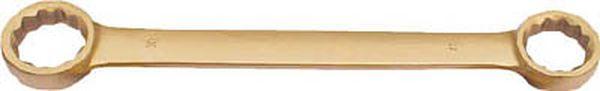 【メーカー在庫あり】 スナップオン・ツールズ(株) バーコ ノンスパーキングダブルエンドフラットリングレンチ NS010-2628 JP