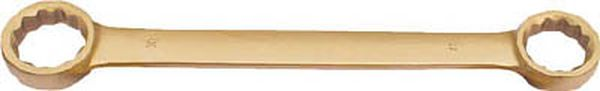 【メーカー在庫あり】 スナップオン・ツールズ(株) バーコ ノンスパーキングダブルエンドフラットリングレンチ NS010-3236 JP