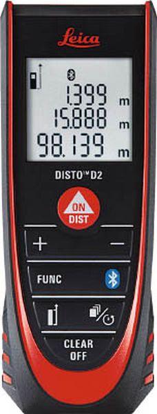 【メーカー在庫あり】 (株)TJMデザイン タジマ レーザー距離計ライカディストD2 DISTO-D2BT JP