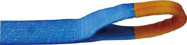 【メーカー在庫あり】 (株)テザック TESAC ラッシングベルト(ベルト荷締機)ラチェットバックル式アイタイプ R100E010-070A JP
