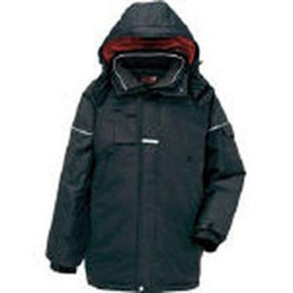 【メーカー在庫あり】 アイトス(株) アイトス 防寒コート ブラックM AZ-6060-010-M JP
