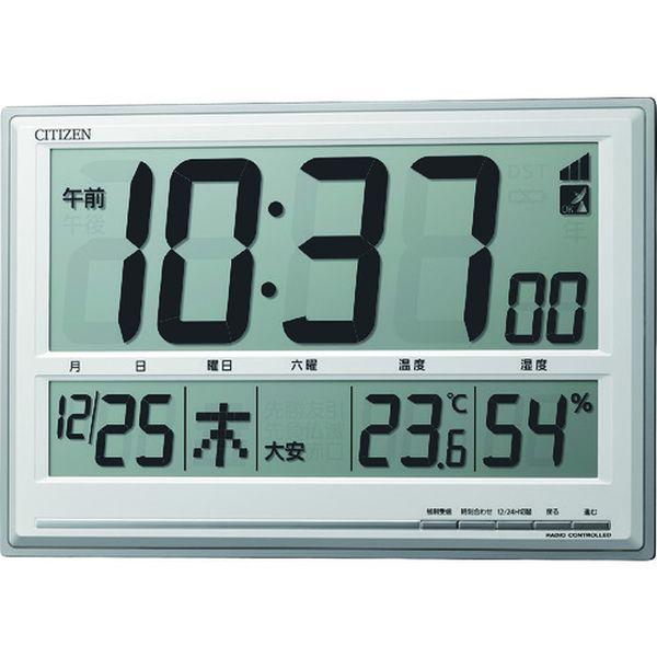 【メーカー在庫あり】 8RZ199019 リズム時計工業(株) シチズン シチズン 電波時計(掛置兼用) 8RZ199-019 JP店