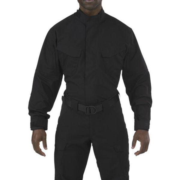 【メーカー在庫あり】 72416019XS 5.11社 5.11 ストライク TDU 長袖シャツ ブラック XS 72416-019-XS JP店