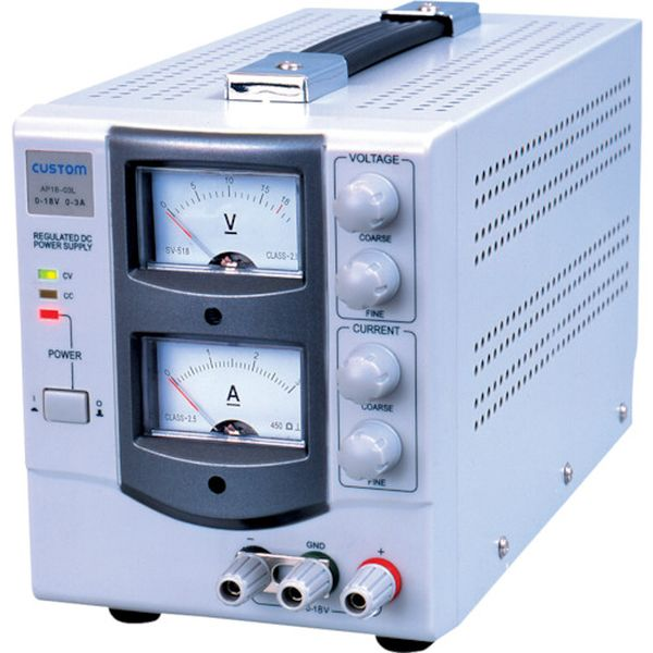 【メーカー在庫あり】 AP1805 (株)カスタム カスタム 直流安定化電源 AP-1805 JP店