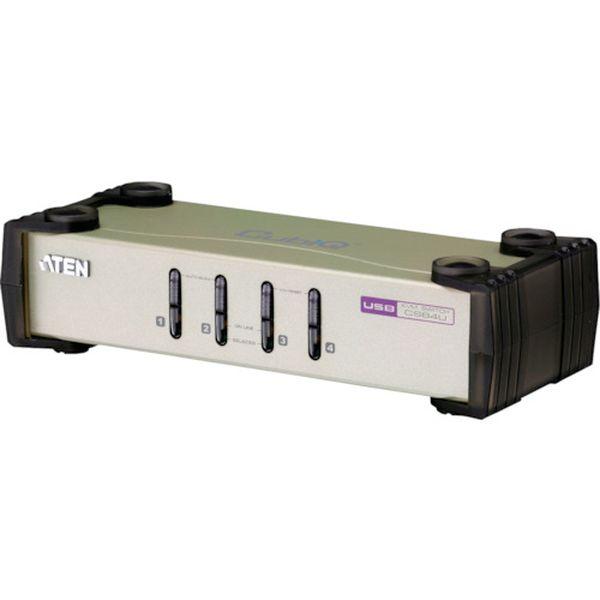 【メーカー在庫あり】 ATENジャパン(株) ATEN KVMスイッチ 4ポート/USB/ マルチインターフェース CS84U JP店