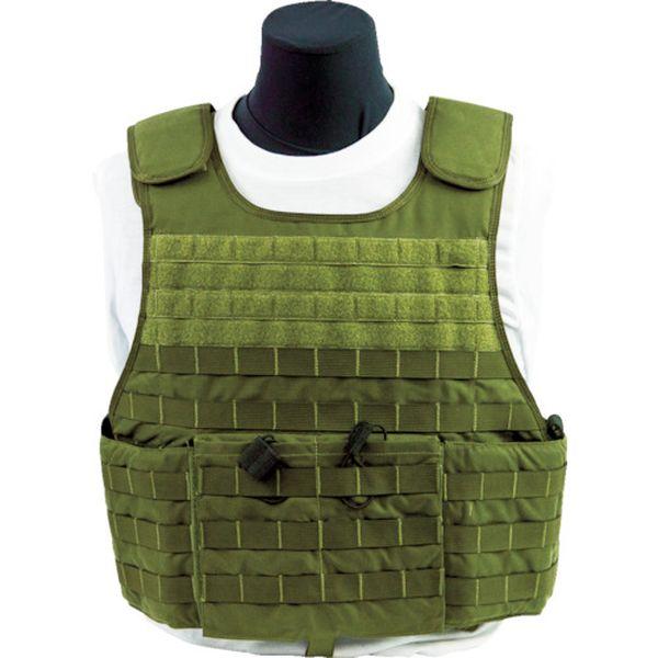 メーカー在庫あり F500777RSODGL U.S. US Armor 防弾ベスト JP店 MSTV500 6000 F-500777-RS-ODG-L ODグリーン 年末年始大決算 未使用 L