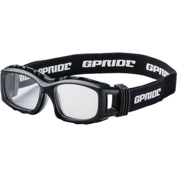 【メーカー在庫あり】 GP94MBK (株)GLASSART EYE-GLOVE 二眼型セーフティゴーグル ブラック (度なしレンズ) GP-94M-BK JP店