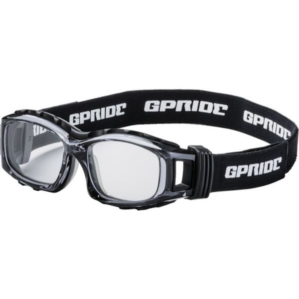 【メーカー在庫あり】 GP94MGR (株)GLASSART EYE-GLOVE 二眼型セーフティゴーグル グレー (度なしレンズ) GP-94M-GR JP店