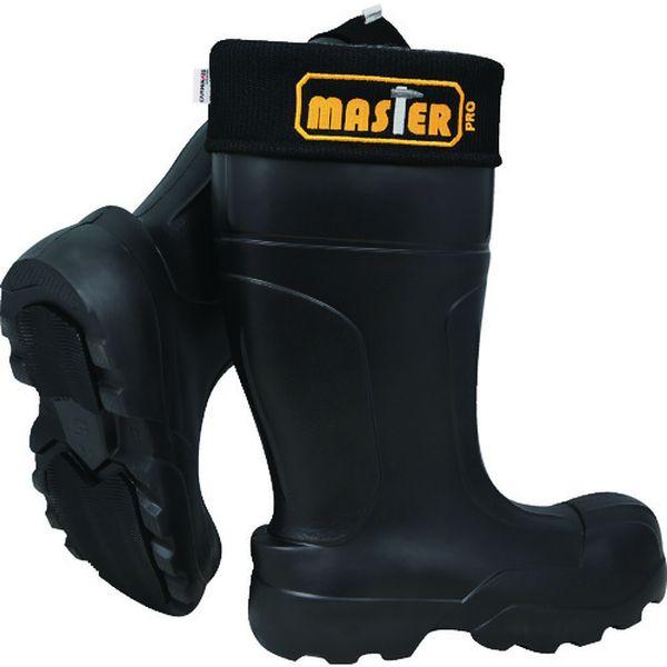 【メーカー在庫あり】 KMCW4226.0 SAPRO Camminare EVA防寒セフティブーツ Master ゴム底 26.0 ブラック KMCW-42-26-0 JP店
