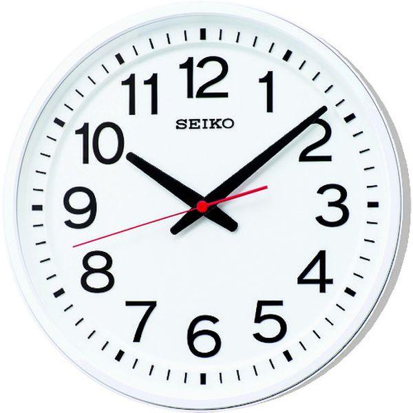【メーカー在庫あり】 セイコークロック(株) SEIKO 「教室の時計」クオーツ時計 KX623W JP店