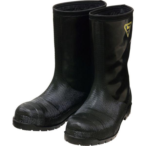 【メーカー在庫あり】 NR04130.0 シバタ工業(株) SHIBATA 冷蔵庫用長靴-40℃ NR041 30.0 ブラック NR041-30-0 JP店