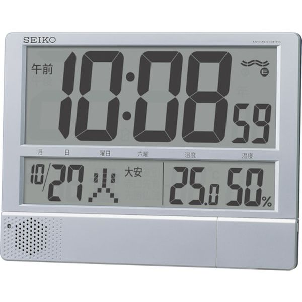 【メーカー在庫あり】 セイコークロック(株) SEIKO プログラムチャイム付き電波時計 SQ434S JP店