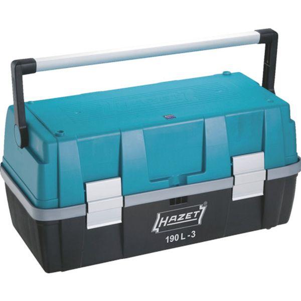 【メーカー在庫あり】 190L3 HAZET社 HAZET パーツケース付ツールボックス 190L-3 JP店