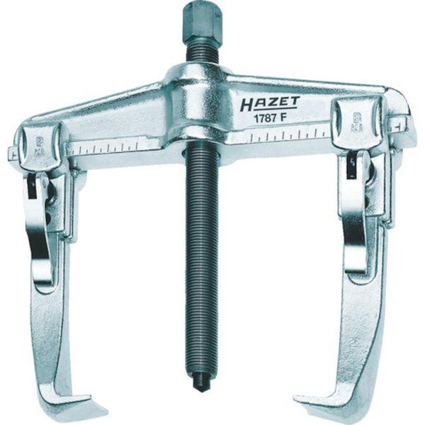 【メーカー在庫あり】 HAZET社 HAZET クイッククランピングプーラー(2本爪・薄爪) 1787F-13 JP