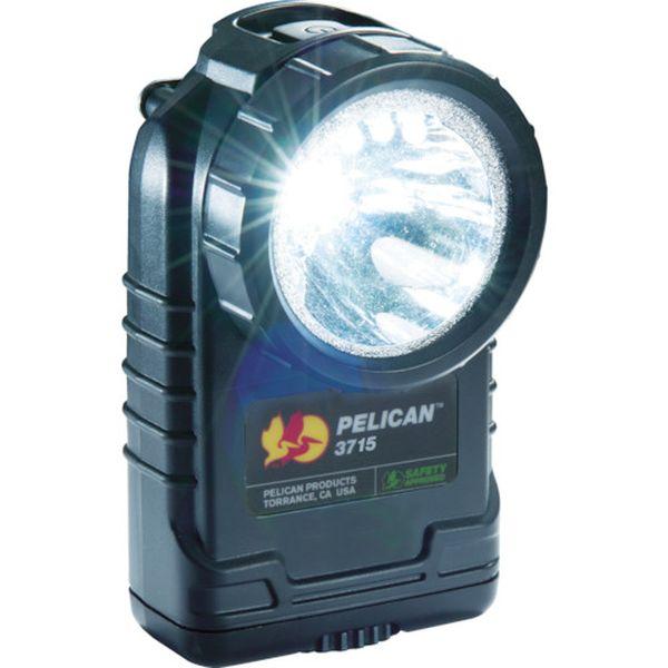 【メーカー在庫あり】 PELICAN PRODUCTS社 PELICAN 3715 LEDフラッシュライト 黒 3715LEDBK JP