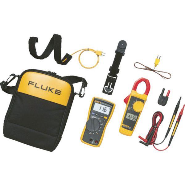 【メーカー在庫あり】 (株)TFF フルーク社 FLUKE 電気設備用マルチメーター116/323HVACコンボキット 116/323 KIT JP