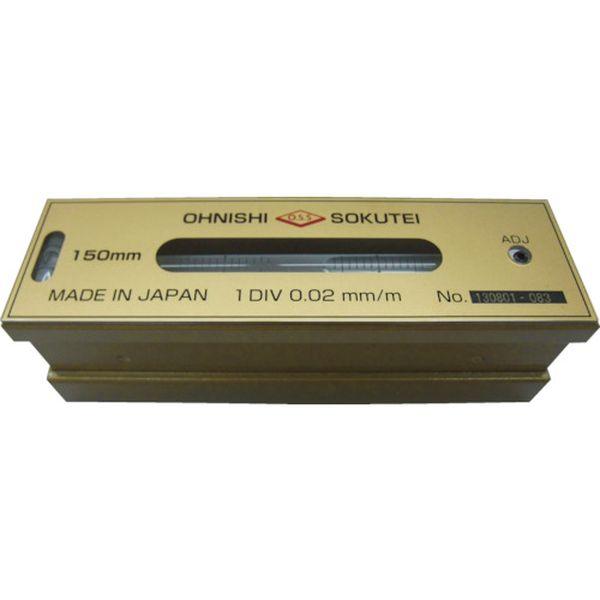 【メーカー在庫あり】 201200 大西測定(株) OSS 平形精密水準器(一般工作用)200mm 201-200 JP店