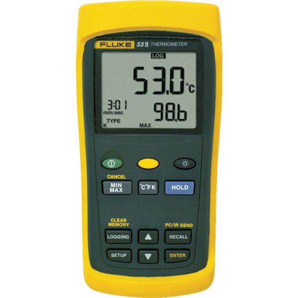 【メーカー在庫あり】 (株)TFF フルーク社 FLUKE 温度計(ロガー機能付・1チャンネル) 53-2B JP