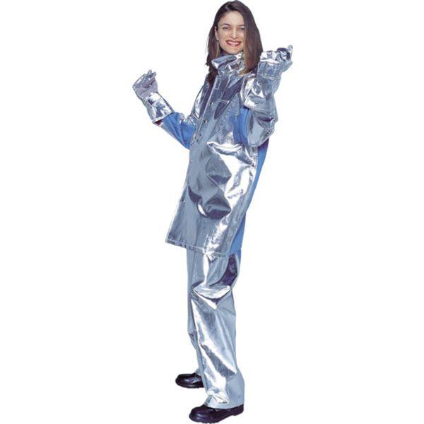 【メーカー在庫あり】 日本エンコン(株) ENCON アルミコンビ耐熱服 上衣 5020-5L JP