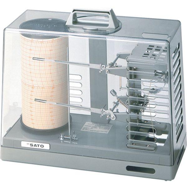 【メーカー在庫あり】 (株)佐藤計量器製作所 佐藤 シグマ2型温湿度記録計 7210-00 JP