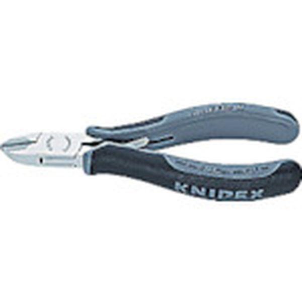 【メーカー在庫あり】 KNIPEX社 KNIPEX 超硬刃エレクトロニクスニッパー 7702-120HESD JP