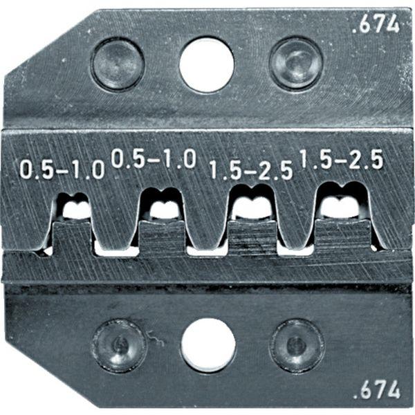【メーカー在庫あり】 RENNSTEIG社 RENNSTEIG 圧着ダイス 624-674 ソケットコンタクト 0.5-2. 624-674-3-0 JP