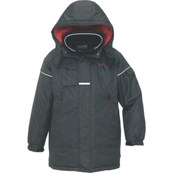 【メーカー在庫あり】 アイトス(株) アイトス 防寒コート ブラックLL AZ-6060-010-LL JP
