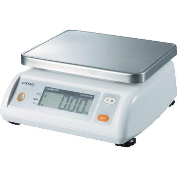 【メーカー在庫あり】 (株)カスタム カスタム デジタル防水はかり CS-5000WP JP