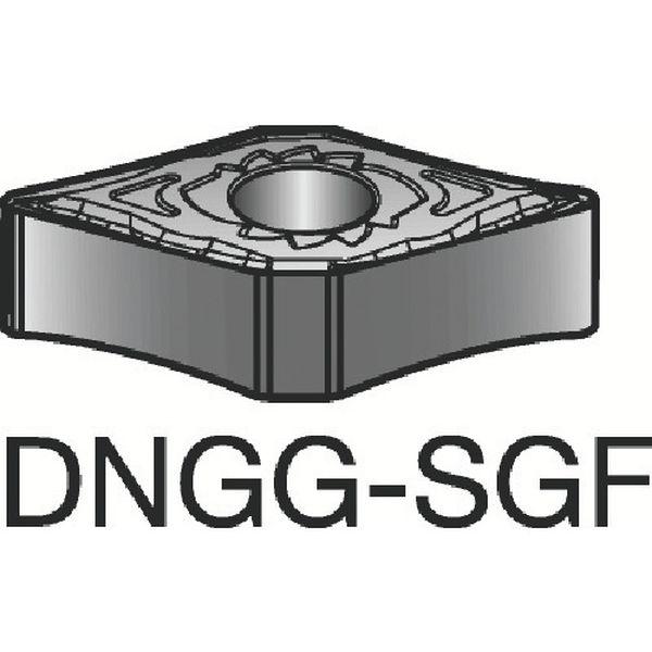 【メーカー在庫あり】 DNGG150404SGF サンドビック(株) サンドビック T-Max P 旋削用ネガ・チップ 1105 10個入り DNGG 15 04 04-SGF JP