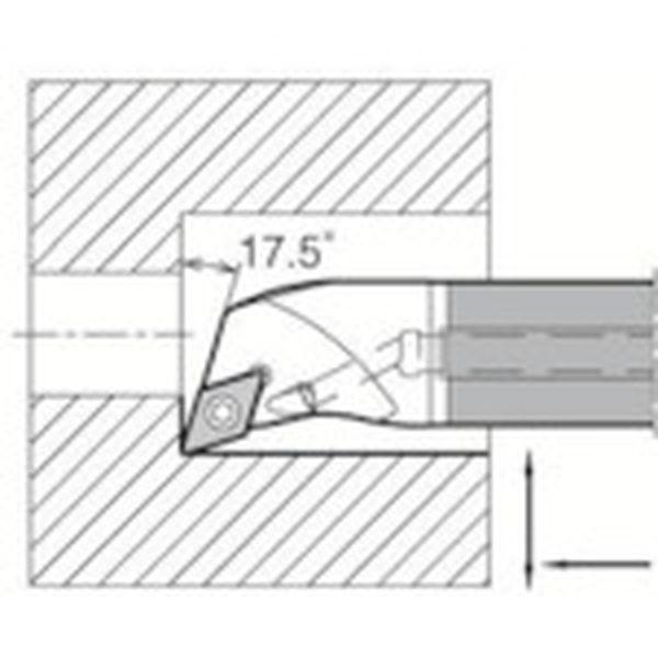【メーカー在庫あり】 E12QSDQCR0716A 京セラ(株) 京セラ 内径加工用ホルダ E12Q-SDQCR07-16A JP店
