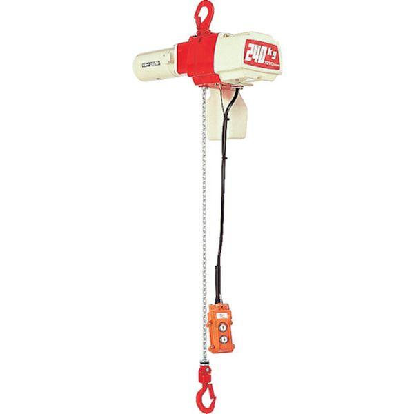 【メーカー在庫あり】 (株)キトー キトー セレクト 電気チェーンブロック 1速 60kg(S)x3m ED06S JP